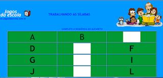 http://www.jogosdaescola.com.br/play/atividades/atividades_portugues/completar_silabas_08.html
