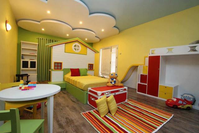DORMITORIOS DE CASITAS DE MUÑECAS Camas con forma de casa infantil