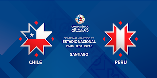 Perú vs Chile en vivo | 29 junio del 2015 | Semi Final | Copa América 2015