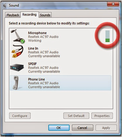 Hưỡng dẫn cài đặt micro với máy tính