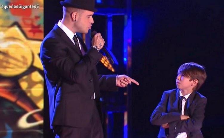 Reto del baile, Adrián y Felipe: Pequeños Gigantes Gala 5