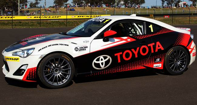 Toyota 86 Racing Series to offer $125k prize