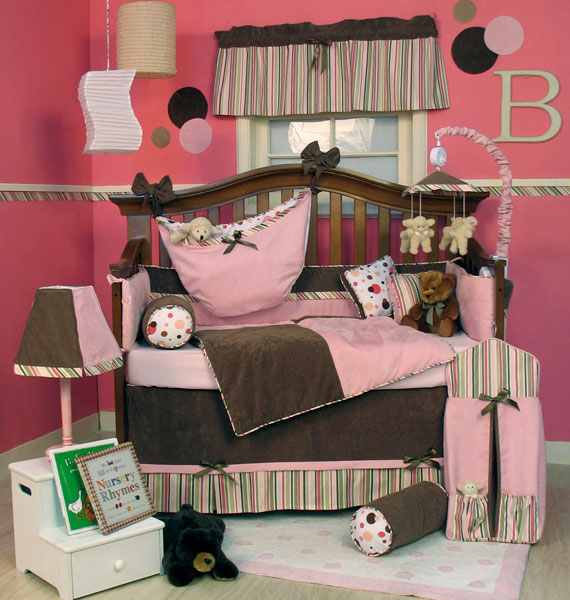 Bassinet Bedding For Girls7