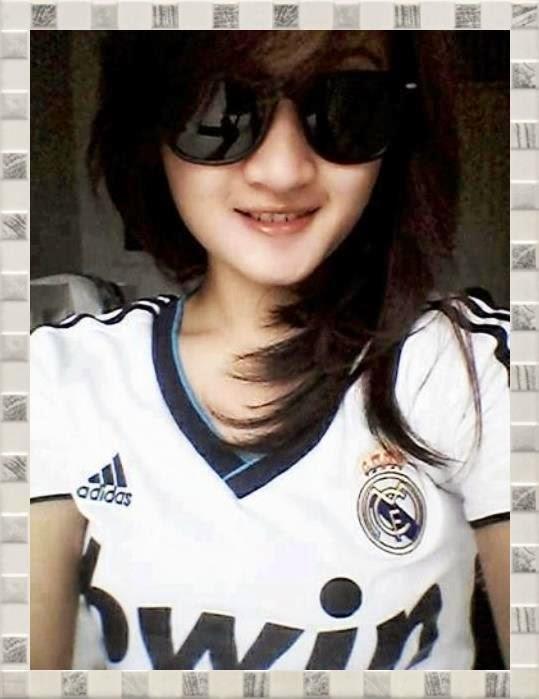 Cewek Cantik Fans Real Madrid Berbagi Apa Yang Ku Dapat