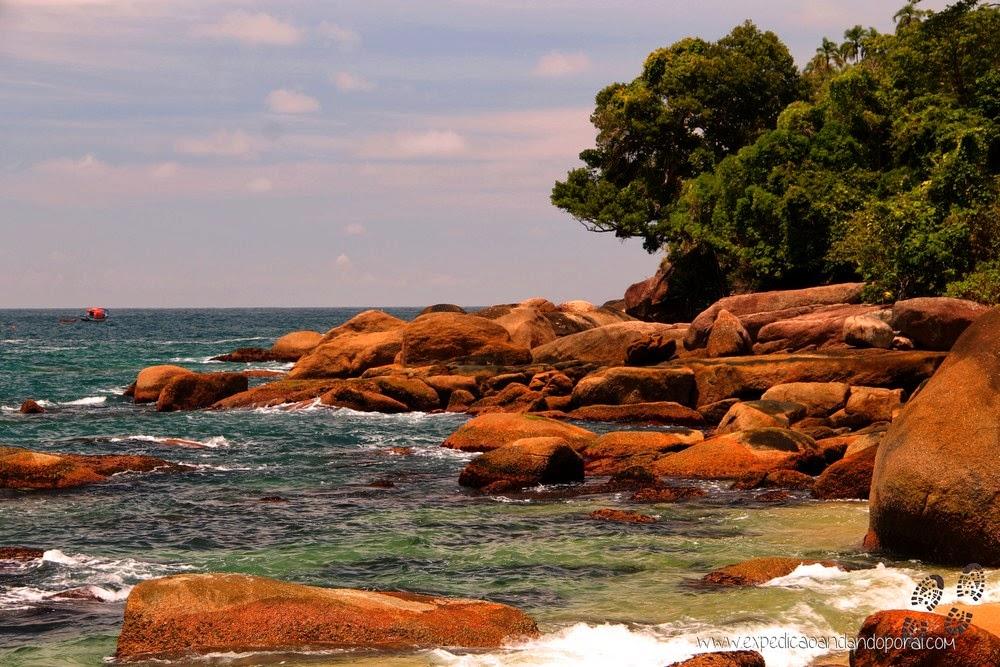 Cairuçu das Pedras, Travessia da Joatinga