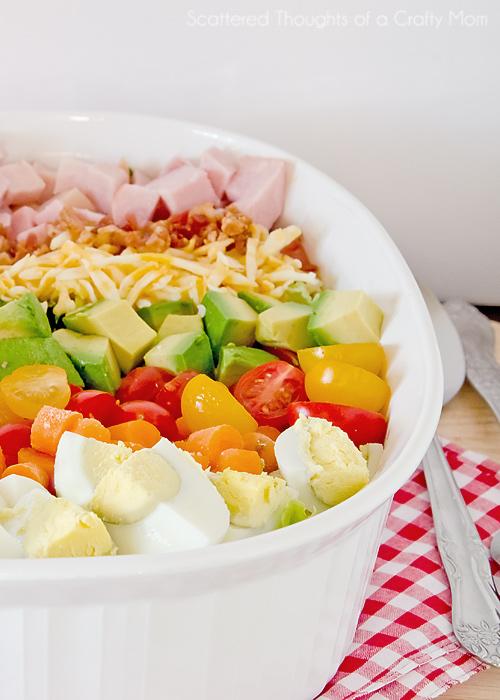 classic cobb salad recipe, classic cobb salad