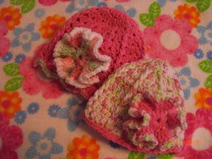 New Flower for Hats 7/11/12