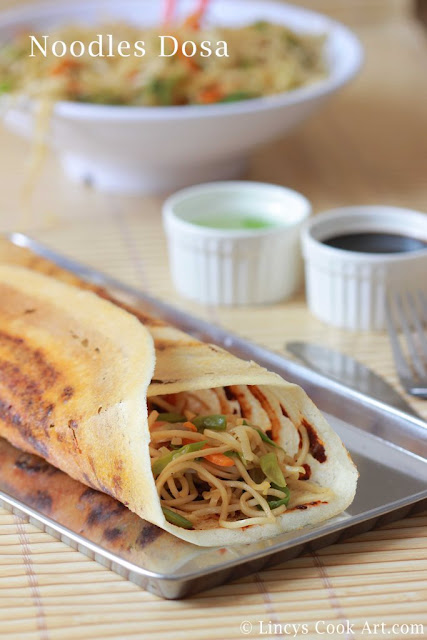 Noodles Dosa Recipe