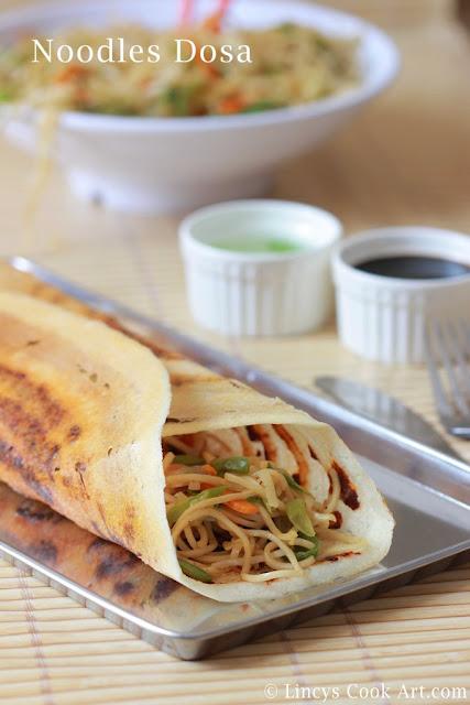 Noodles Dosa Recipe