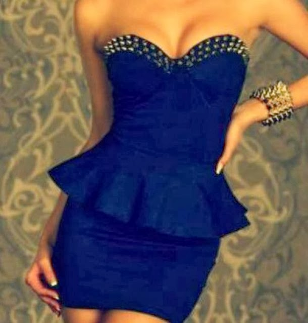 Stunning strapless mini party dress fashion