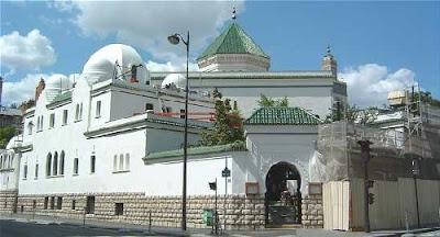 Kubah Masjid Agung Prancis
