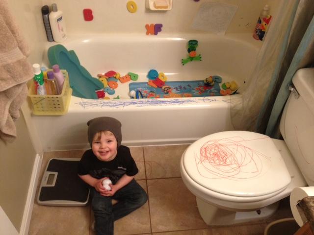 Soup on the Rocks: Friday Favorites- Toddler Bath Fun