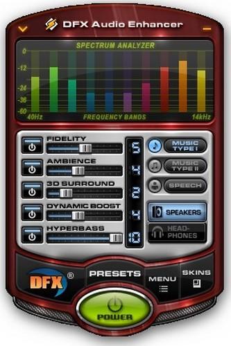 تحميل برنامج تكبير الصوت للكمبيوتر Download DFX Audio Enhancer