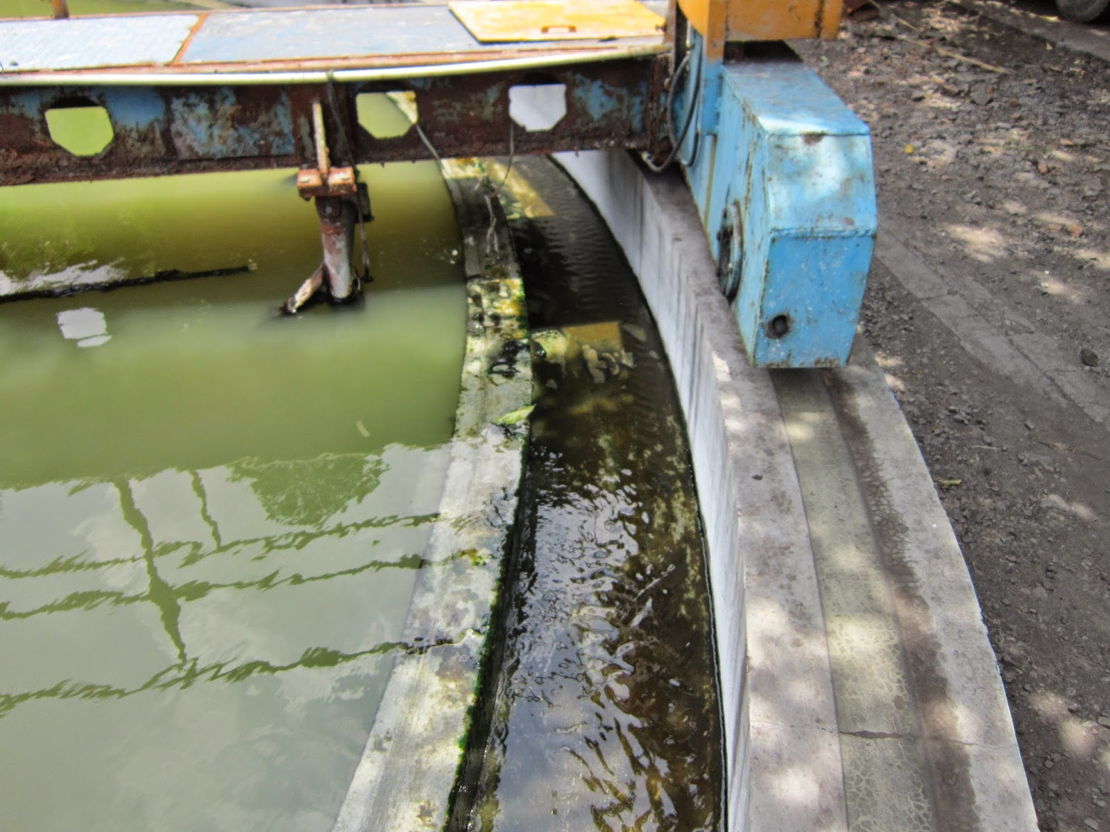 hasil pengolahan air limbah