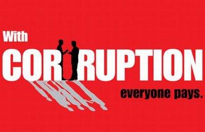 evils of corruption