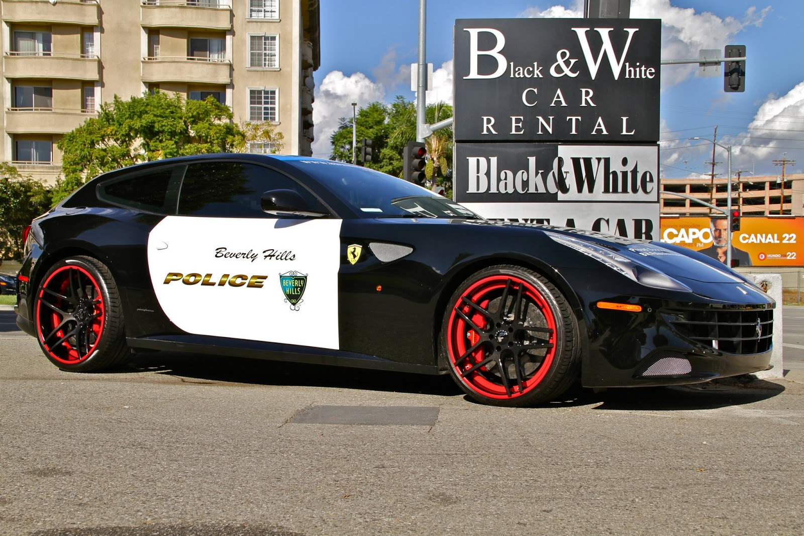 exotic and muscle cars ferrari ff beverly hills police car. Cars Review. Best American Auto & Cars Review
