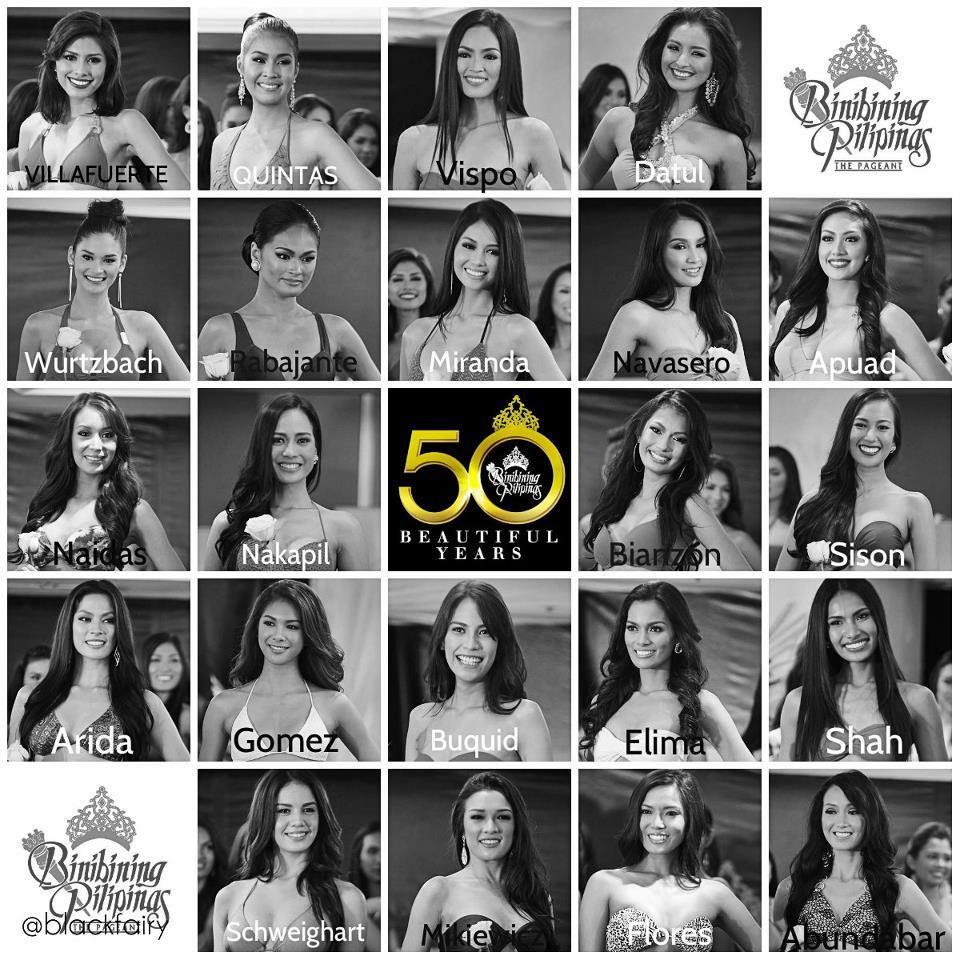 Bb Pilipinas 2013 Candidates