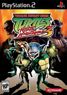 Teenage Mutant Ninja Turtles 3: Mutant Nightmare Ps2 Iso Mega Ntsc Juegos Para PlayStation 2