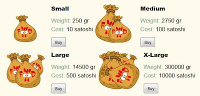 Фото раздела для покупки корма
