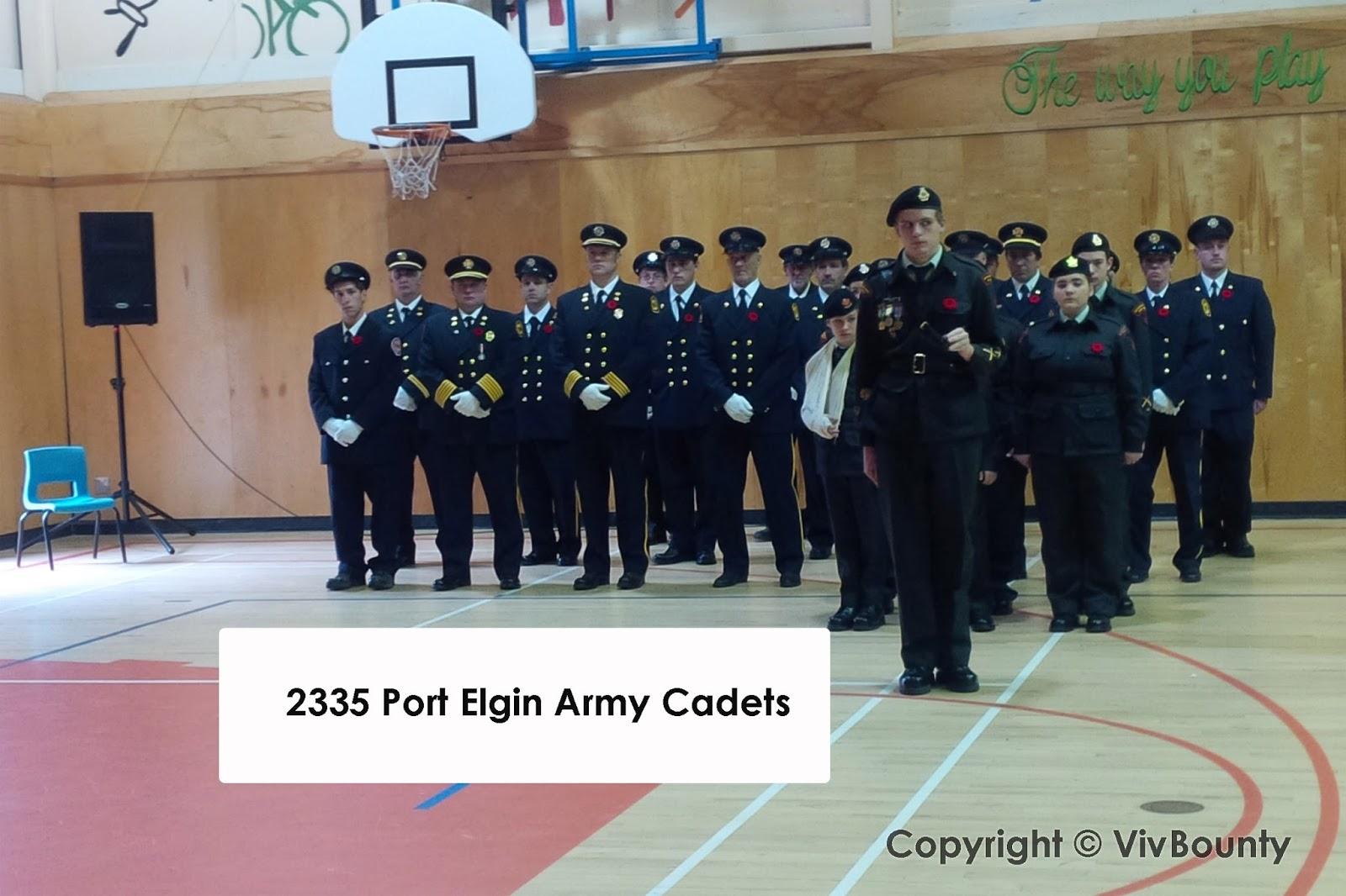 2335 Port Elgin Army Cadets, VivBounty