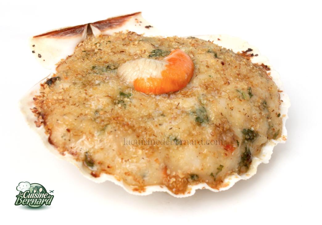 Recettes noix de saint jacques facile - Cuisiner le corail des coquilles saint jacques ...