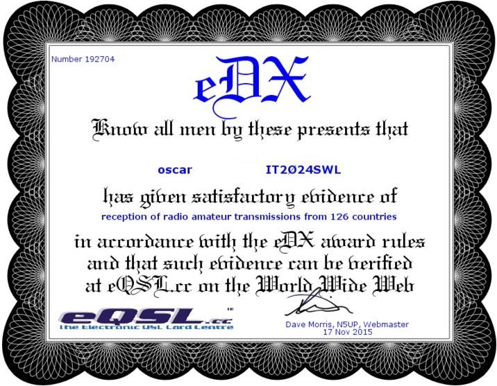 eAWARD eDX125