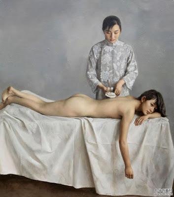 Retratos Personas De China Oleo Yuan Zhengyang