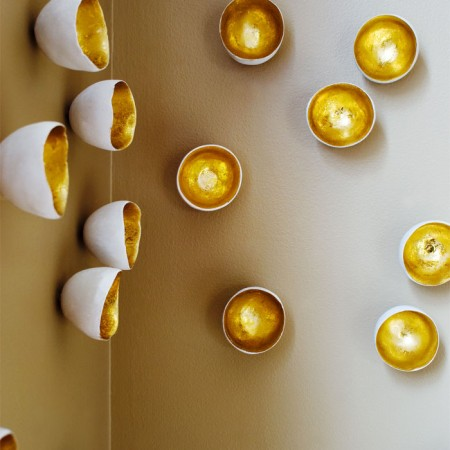 i was looking for some decorative wall accents and found these cute design from gold leaf design