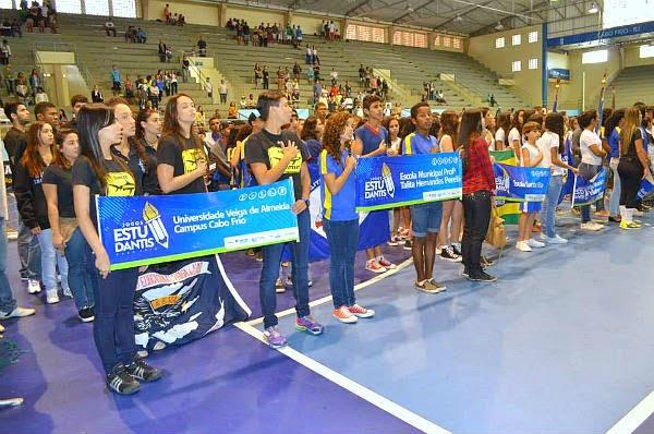 Em Cabo Frio competição de futsal dos Jogos Estudantis será neste domingo.