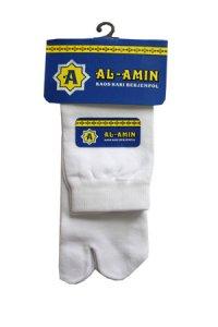 Kaos Kaki Al amin Berjempol Sedang - Putih (Toko Jilbab dan Busana Muslimah Terbaru)