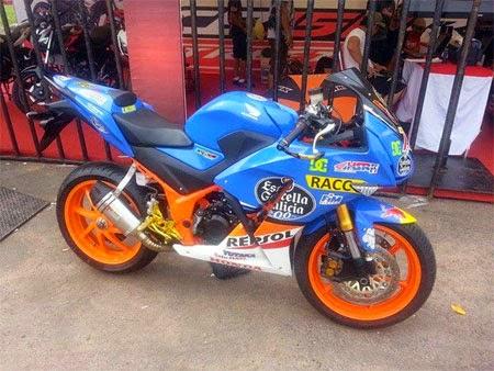 Modifikasi Honda CBR Sena Ponda