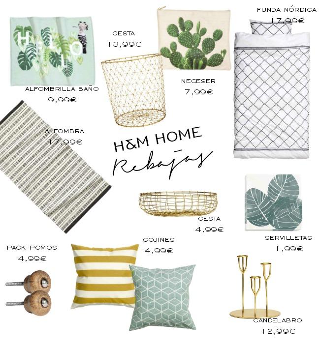 Rebajas en tiendas de decoración: H&M Home
