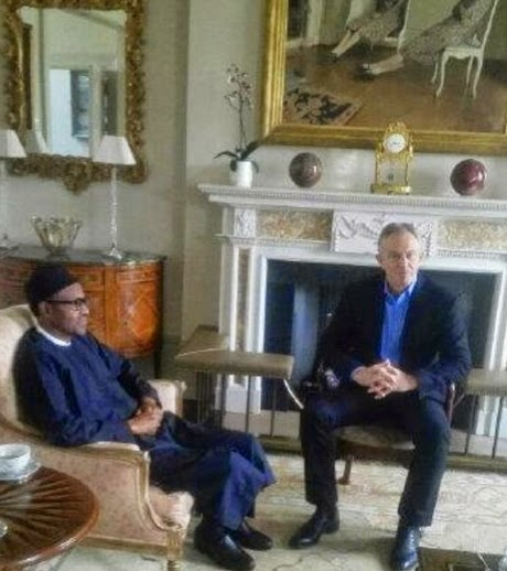 buhari tony blair london