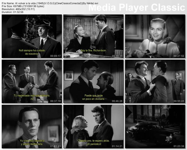 Capturas de pantalla: Al Volever a la Vida 1948