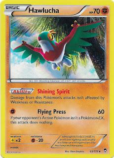 Hawlucha Furious Fists Pokemon Card