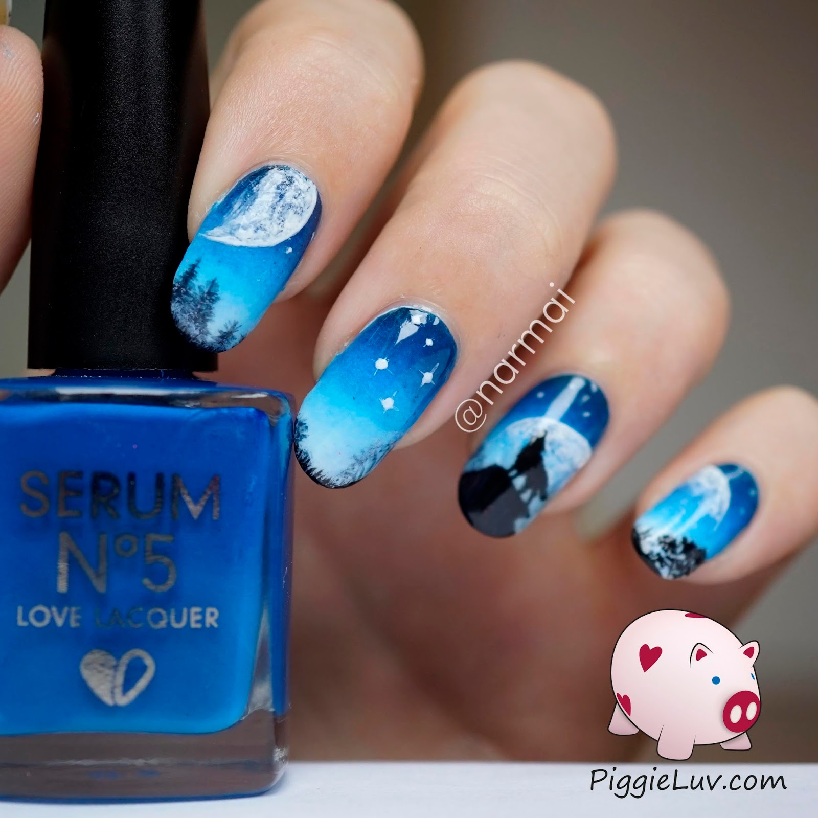 Night Sky Nail Design | Best Nail Designs 2018