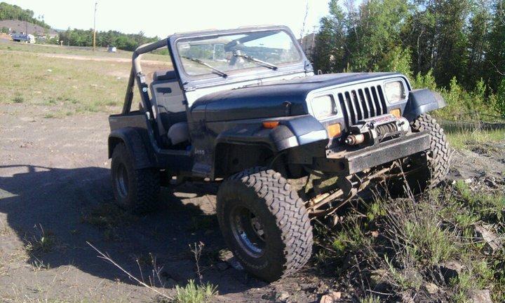 Jeep Wrangler YJ Motor Swap