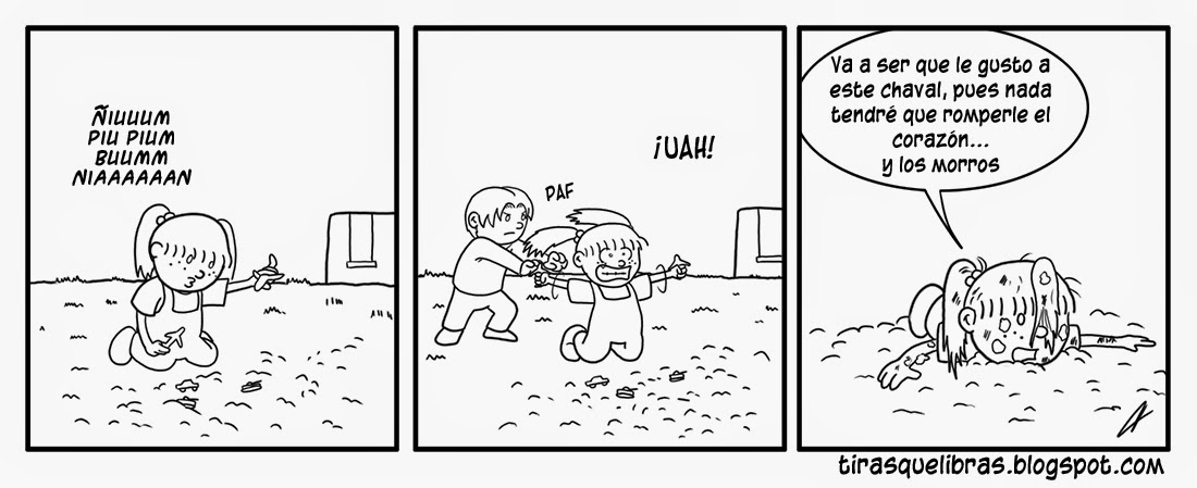 webcomic, a Tom le gusta Jen y pronto se arrepentira de ello