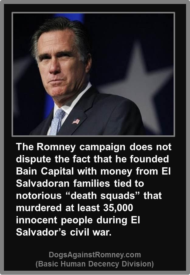 Michael Berry on the NAACP El_Salvador_Death_Squads_Romney_Bain_Capital