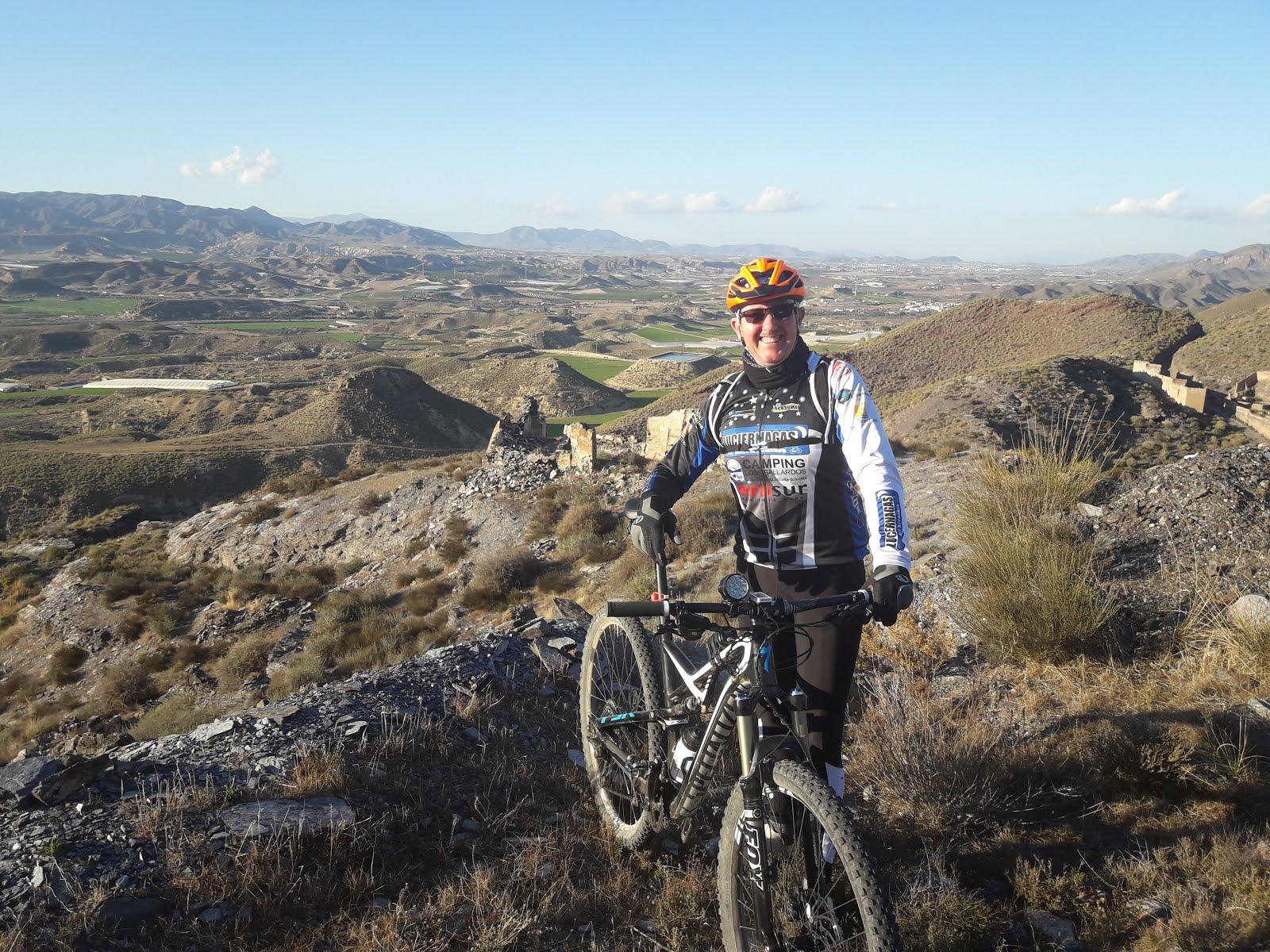 Descenso por caminos del Barranco Jaroso. Almería febrero 2018
