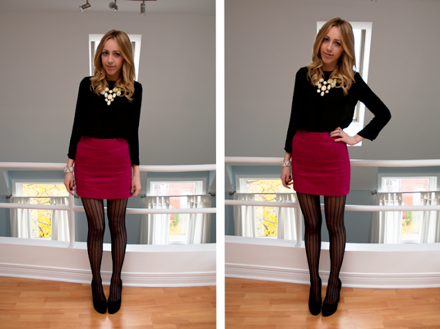 h&m forever 21 canada zen kitchen outfit of the day blonde