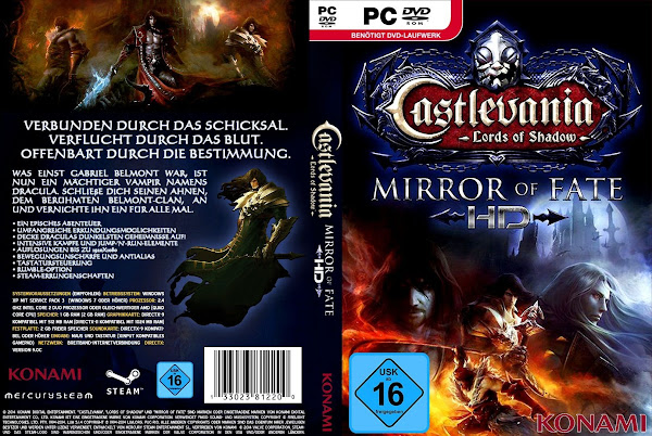 Capa Castlevania Mirror Fate HD PC