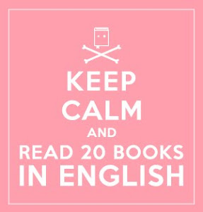Reto Keep Calm and Read 20 books in English