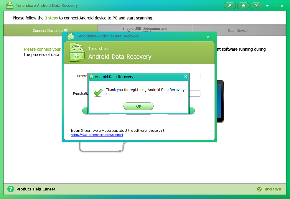 Ternoshare Android Data Recovery Full Serial Key