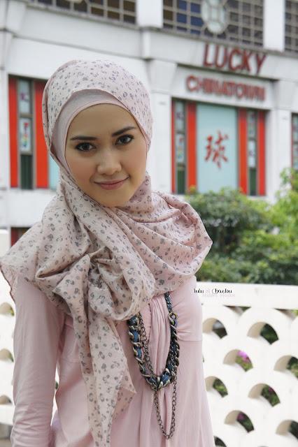 Rosy China Town Malabis Moslem Hijab Fashions