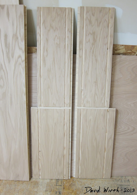 how to build cabinets, make cabinets, wood, oak, vaneer