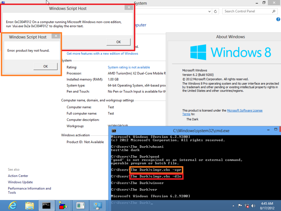 Windows 8 permanent activator all editions personalization fix : alkgooger