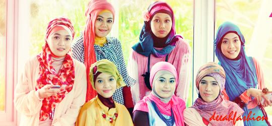 Trend Jilbab Baju Muslim Colorfull 2014 Baju Muslim Populer 2014