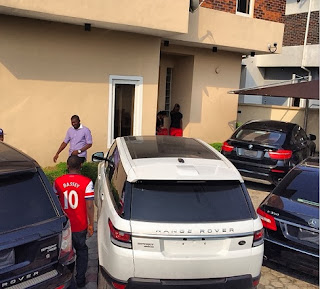 See Iyanya 's New Whip 2013 Range Rover Sport worth N25 Million.
