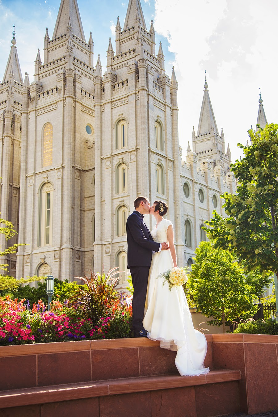 Crystal Spencer Photography Salt Lake Temple Wedding Photographer Marianne Robby Sneak K